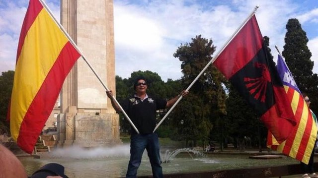 Sa Feixina manifestació feixista